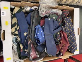 A large qty of ties