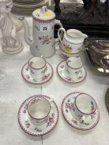 A Hawkins and Henley coffee set