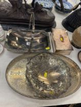 A small qty of Silver plate
