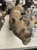 A model of a Rhino