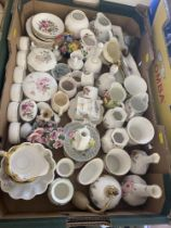 A qty of decorative porcelain, inc.