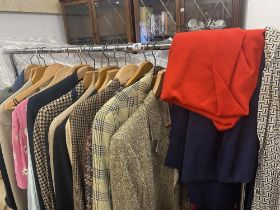 A collection of vintage clothes, Aquascutum, YSL,