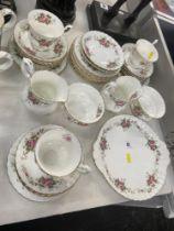 A part tea set,