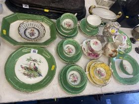 A qty of T. Goode and Co. part tea set, some Adderly, ROyal Albert, Wedgewood etc.