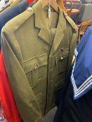 A army uniform,