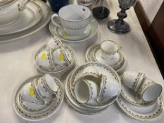 A Mann and Son's tea set and a Large Minton cup and saucer a.