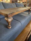 A Bergere footstool a.