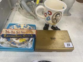 Four pieces of Royal memorabilia