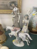 Three figures,