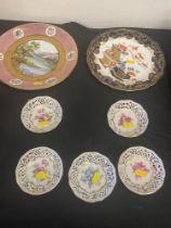 A qty of Porcelain, Royal Doulton etc,