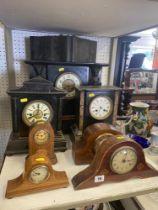 A qty of clocks