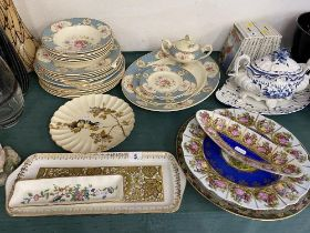 A qty of assorted china