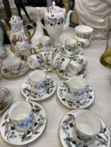 A Wedgewood coffee set