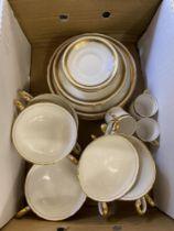 A part Royal Chelsea coffee/ soup set