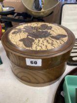 A Japanese Victorian collar box,