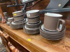 A Hornsea dinner/ tea set