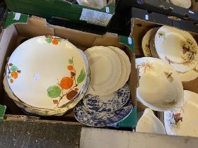 An Alfred Meakin Country Life dinner set and assorted plates
