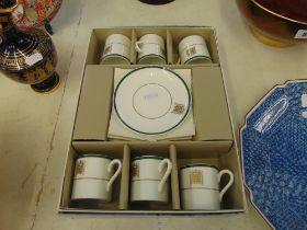 A Wedgewood coffee set,