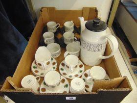 A Royal Adderley part coffee set