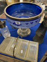 A qty of Silver plated items inc.