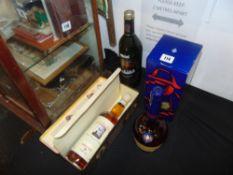 A bottle of Highland malt Whisky, Aberlour,