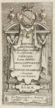 Biologie - Botanik - - Gasparis, Stephano de. Liquoris artifcialis pro opobalsamo orientali in