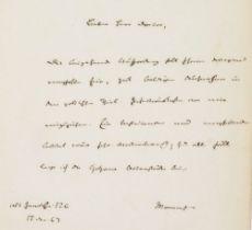 Nobelpreisträger - - Sammlung mit 36 Autographen von Literaturnobelpreisträgern. Unterschiedliche
