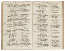 Herrnhuter - - Klingsohr, Johann August und Jacob van Vleck. Catalogus der seit der Restitution