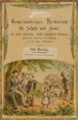 Biologie - Botanik - - Dietrich, David. Gemeinnütziges Herbarium für Schule und Haus. 150 theils