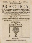 Astrologie - - Reinhold, Matthesius. Deo Ter Optimo Maximo, Honor & Gloria. Natürliche Grosse