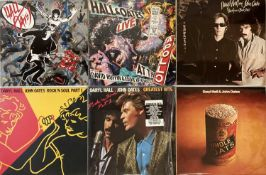 "HALL & OATES/ THE DOOBIE BROTHERS - LPs & 12"""