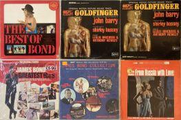 JAMES BOND SOUNDTRACK - LPs