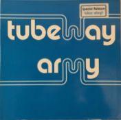 TUBEWAY ARMY - S/T (BLUE VINYL LP - BEGA 4)