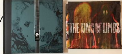 RADIOHEAD - A MOON SHAPED POOL/ THE KING OF LIMBS LP PACK