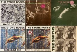 """THE SMITHS/ STONE ROSES - LPs & 12"""""""