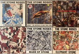 """THE STONE ROSES - LP & 12"""" PACK"""