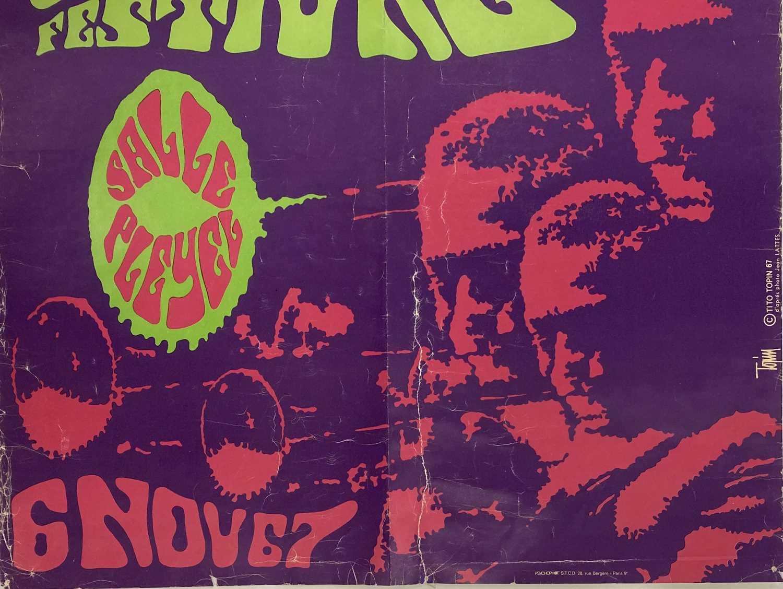MILES DAVIS 1967 PARIS JAZZ FESTIVAL POSTER - Image 5 of 5