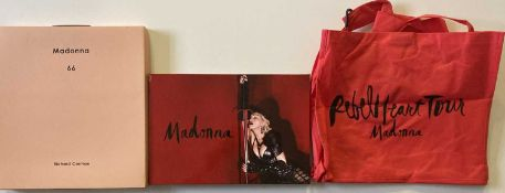 MADONNA PROGRAMMES AND BOOKS