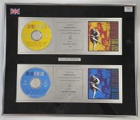GUNS AND ROSES USE YOUR ILLUSION DOUBLE PLATINUM SALES AWARD