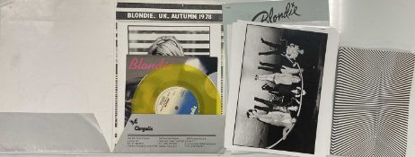 BLONDIE PRESS AND PUBLICITY ITEMS