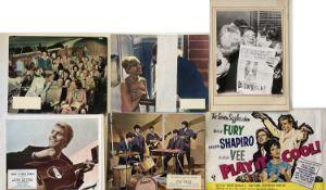 BILLY FURY / POP FILMS LOBBY CARDS