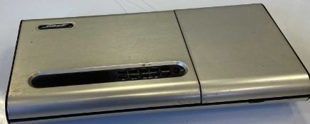 BOSE SUBWOOFER, SPEAKERS AND CD PLAYER