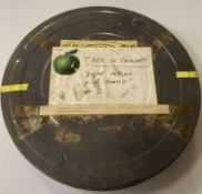 APPLE FILMS CANISTER USED TO HOUSE T.REX IN CONCERT
