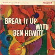 """Ben Hewitt - Break It Up With 7"""" EP (ZEP 10035)"""