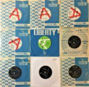 "LIBERTY RECORDS 7"" - JACKIE DE SHANNON/FEMALE ARTISTS"