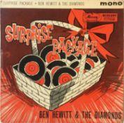 """Ben Hewitt & The Diamonds - Surprise Package 7"""" EP (ZEP 10088)"""