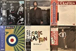 Clapton/ Cream - Solo Related Japanese LPs