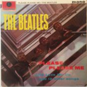 The Beatles - Please Please Me LP (1st UK Mono Pressing 'Black And Gold'/2nd Printing Sleeve - PMC 1