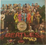 THE BEATLES - SGT. PEPPER'S LONELY HEARTS CLUB BAND LP (ORIGINAL UK STEREO COPY - PCS 7027)