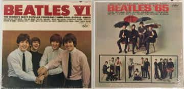 THE BEATLES - BEATLES '65 AND VI LPs (ORIGINAL US MONO PRESSINGS - SUPERB COPIES)